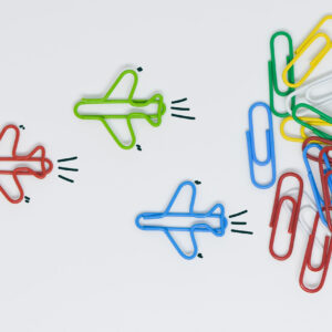 Paperclip Airplanes
